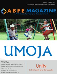 ABFE Magazine - August 2015 - FINAL Cover